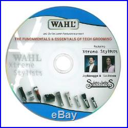 Wahl KM10 GROOMER STUDENT KIT CLIPPER&5 BLADES&Steel Attachment COMB SET, CASE +