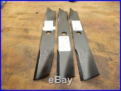 Wheel Horse 310-8- 42 Mower Deck Blades HEAVY DUTY SET OF 3-NEW-MADE IN U. S. A
