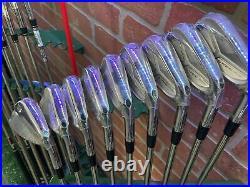 Wilson Staff Model Blade CB Combo Set 2-PW MRH TT Dynamic Golf X100 X-Stiff NEW